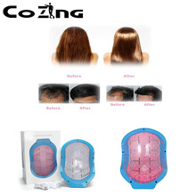 COZING Laser Helmet physical therapy hair lose diodes Medical Treatment Hair Loss Solution Hair Fast Regrowth LLLT Laser Cap недорого