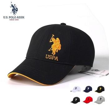 U s Polo Assn 2021 nowa para czapki baseballowe moda sześć kolorów haft standardowy bawełna regulowane czapki dla mężczyzn i kobiet tanie i dobre opinie Dekoracji Cztery pory roku Stałe Adult CN (pochodzenie) COTTON OUTDOOR Unisex Na co dzień Adjustable Summer2021 B595133008
