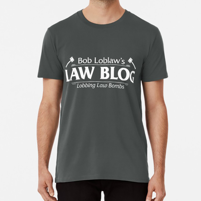 Adult Light Gray Comedy Show Arrested Development Gobias Industries T-shirt Tee