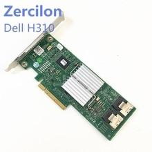 جهاز تحكم Dell Perc H310 SATA/SAS HBA أصلي مستعمل مزود بـ 6Gbps PCIe x8 LSI 9240 8i M1015 P20 وضع تكنولوجيا المعلومات