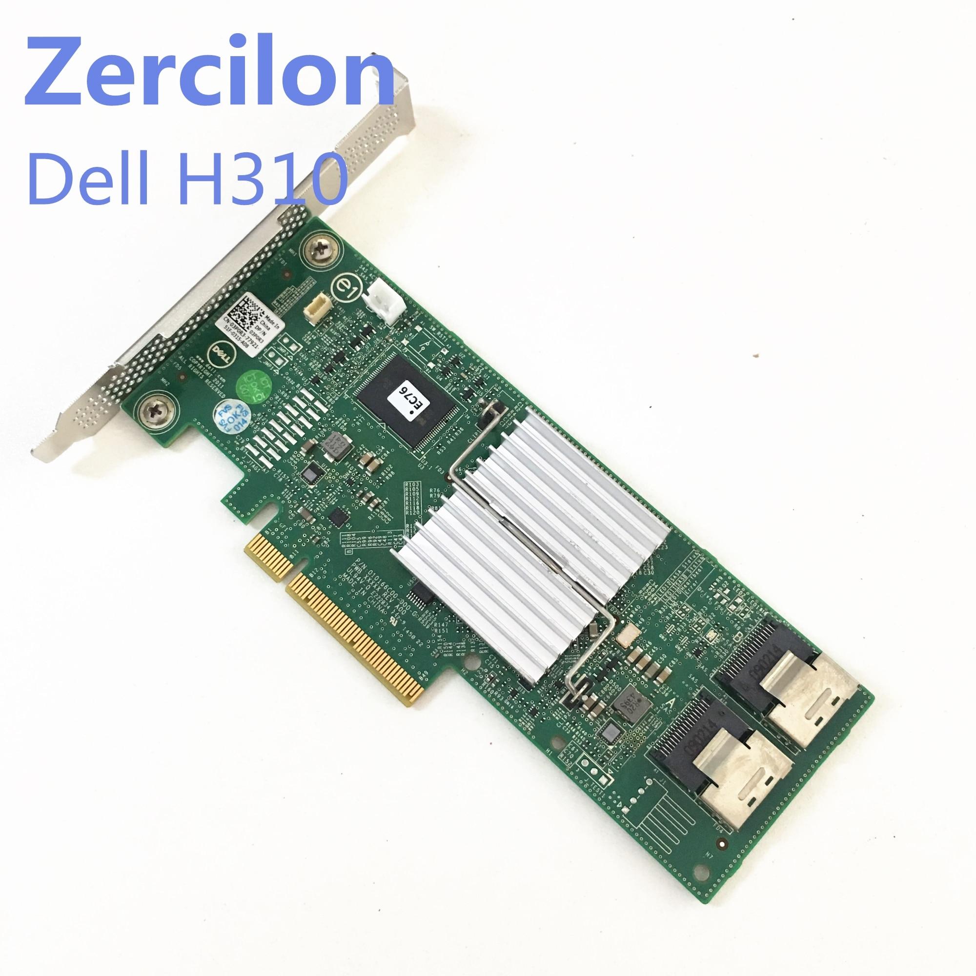 Used Original Dell Perc H310 SATA / SAS HBA Controller RAID 6Gbps PCIe X8 LSI 9240-8i M1015