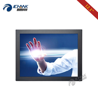 ZB120TC DUV2/12.1 inch 1024x768 DVI Wall mounted Industrial Equipment Anti jamming Resistance Touch Monitor LCD Screen Display