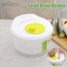 Сушилка для овощей салат Спиннер большая емкость корзина мытья