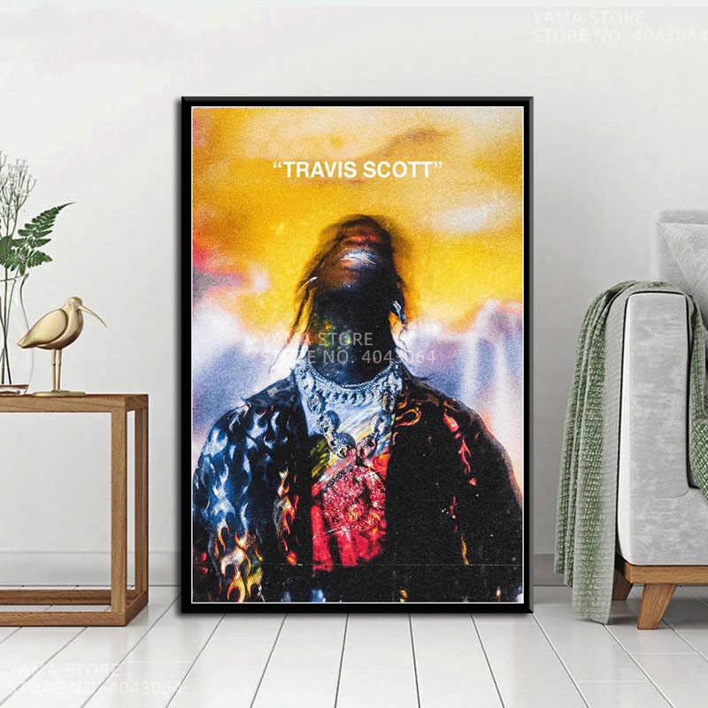 travis scott poster print wall art gift
