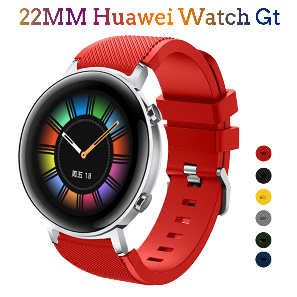 Active 2 Strap For Huawei Watch Gt 2 Strap 46mm Silicone Bracelet Wrist Smart Watchband 22mm Watch Band Huawei Watch Gt2 46 Mm
