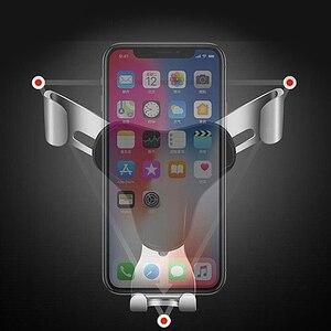 Image 5 - CBAOOO universal gravity car mobile phone holder mobile phone GPS car vent clip 360 degree rotating mobile phone holder