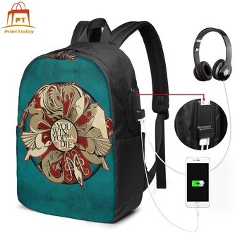 Game Of Thrones Backpack Backpacks Print Teen Bag Multi Function Man - Woman Trend Bags