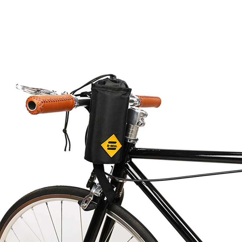 B SOUL Road Bike Front Handlebar Water Bottle Insulation Bag Bottle Pouch