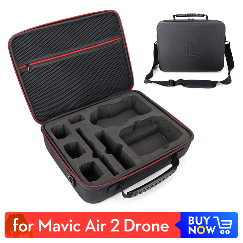 Protective Storage Bag Carrying Case box for DJI Mavic Air 2 Drone Carrying Case Accessories with Shoulder Strip