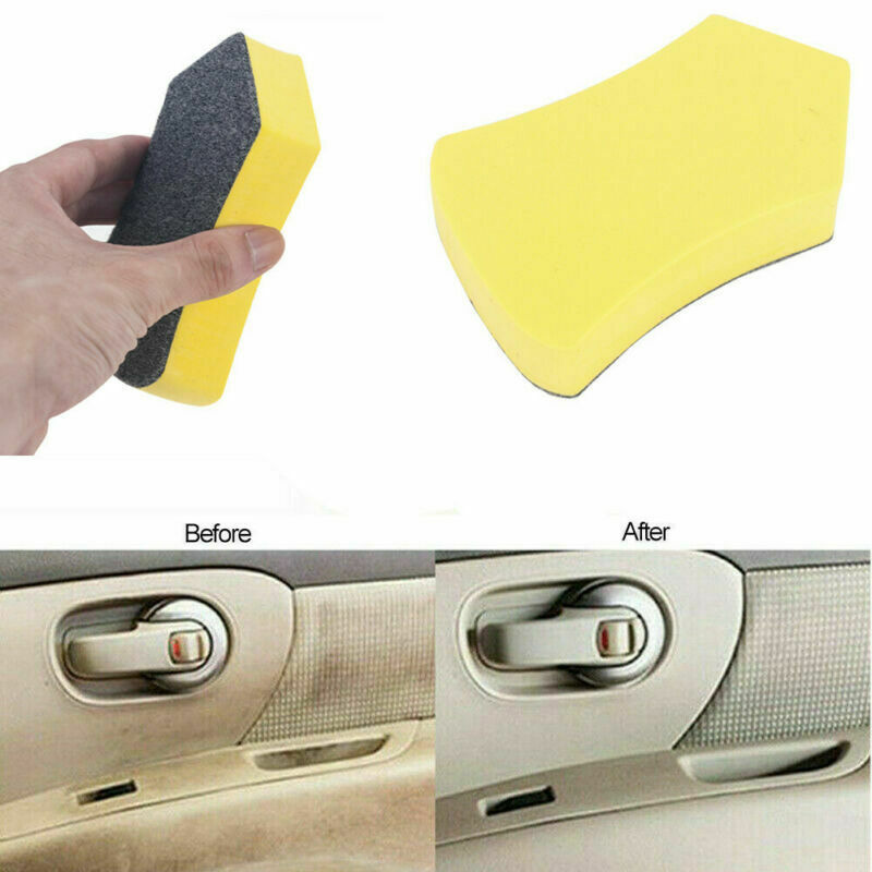Car Leather Seat Care Detailing Clean Nano Brush Auto Interior Window Wash Tool