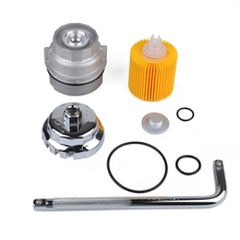 Oil Filter Housing+Cover Aluminum For Toyota Camry Lexus Maintenance Disassembly Tool  Accessories