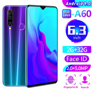 In stock Cectdigi A60 2GB+32GB Smartphone Android 9.0 4000mAh 19:9 6.26 Inch Water Drop Screen 8MP+16MP Octa Core Mobile Phone