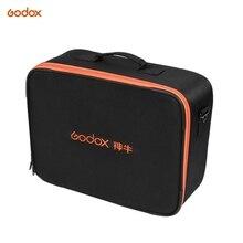 Godox Studio Flash Strobe Padded Hard Carrying Storage Bag Case for