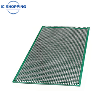 10x15 10*15cm Double Sided Prototype PCB Tinned DIY Board Experiment Board Ring Hole Bread Board 2.54mm Fiberglass Board