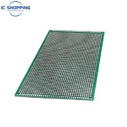 10x15 10*15cm Double Sided Prototype PCB Tinned DIY Board Experiment Board Ring Hole Bread Board 2.54mm Fiberglass Board