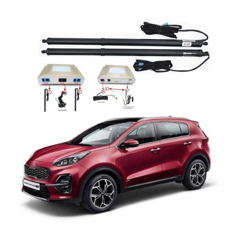 New Electric Tailgate Refitted For KIA SPORTAGE 2016 -2020 Tail Box Intelligent Electric Tail Door Power Tailgate Lift Lock