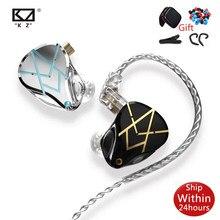 KZ ASX – écouteurs stéréo avec Microphone pour ZSX, oreillettes de sport, stop-bruit, 20ba