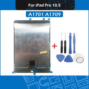 Nowy A1701 A1709 montaż lcd dla iPad Pro 10.5 panel wyświetlacza montaż digitizera ekranu dotykowego bez przycisku