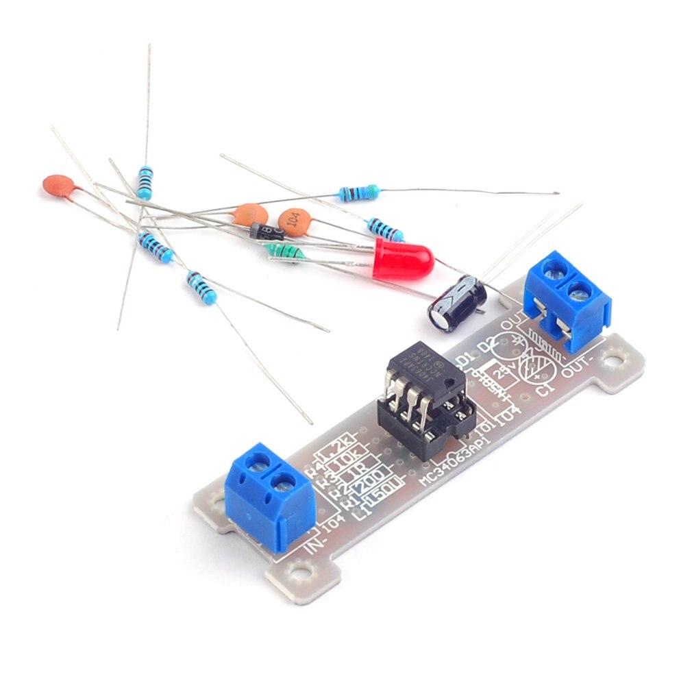Power Module Boost Module 5V Liter 12V Boost Board Mc34063 Power Module Diy Electronics Production Kit