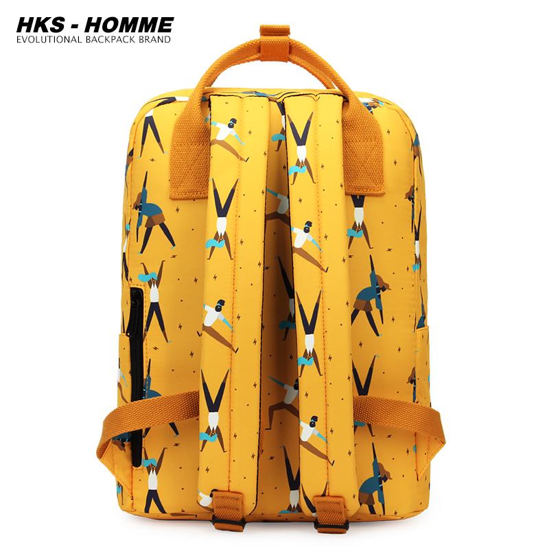 Fashion 2021 New Women Canvas Backpacks Waterproof School Bags for Teenagers Girls Big Cute Laptop Backpack Mochilas