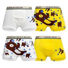 10Pcs/Lot Boy Shorts Children Underwear Boys Cotton Boxer Kids Panties 2-10Years
