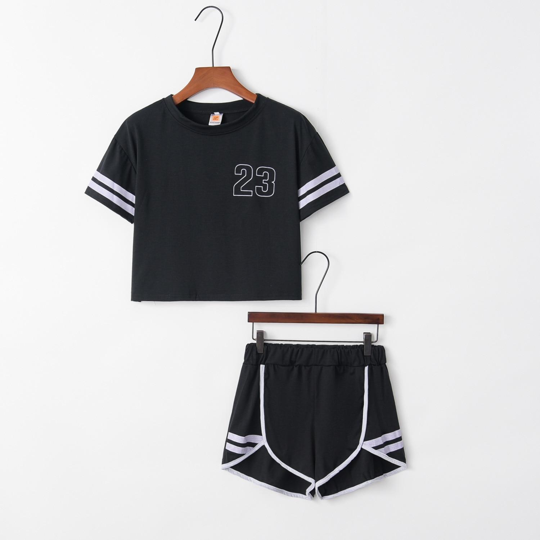 Number 23 2020 New Design Fashion Hot Sale Suit Set Women Tracksuit Two-piece Style Outfit Sweatshirt Sport Wear