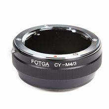 Anel Adaptador FOTGA Lens Para Contax/Yashica CY Lens para Micro 4/3 m4/Adaptador para E P1 3 G1 GF1 latão atacado oem