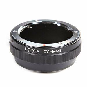 Image 1 - Anel Adaptador FOTGA Lens Para Contax/Yashica CY Lens para Micro 4/3 m4/Adaptador para E P1 3 G1 GF1 latão atacado oem