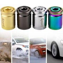 Universal Reifen Kappe 9,5mm Kupfer Schmücken Auto Zubehör Auto Ventil dicht Anti-diebstahl Dichtung Schutz Werkzeuge outdoor 1 Set