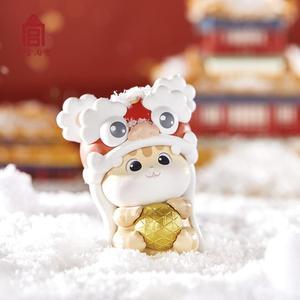 Глухая коробка с героями мультфильмов, животных из Китая, милый котенок, китайская история, традиционная культура, Обучающие игрушки, тайна,...