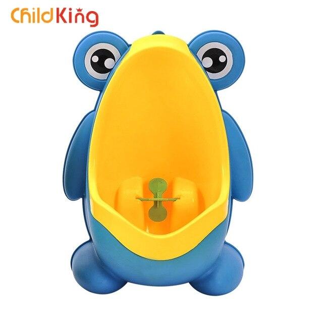 ChildKing Boy Urinal Training Device Baby Frog Baby Toilet New Urinating Animal Mode Baby Toilet Potty Trainingseat Toiletkid