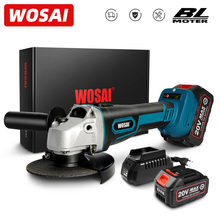 WOSAI MT Series M14 Brushless Angle Grinder 20V Lithium-Ion Battery Machine Cutting Cordless Electric Angle Grinder Power Tools