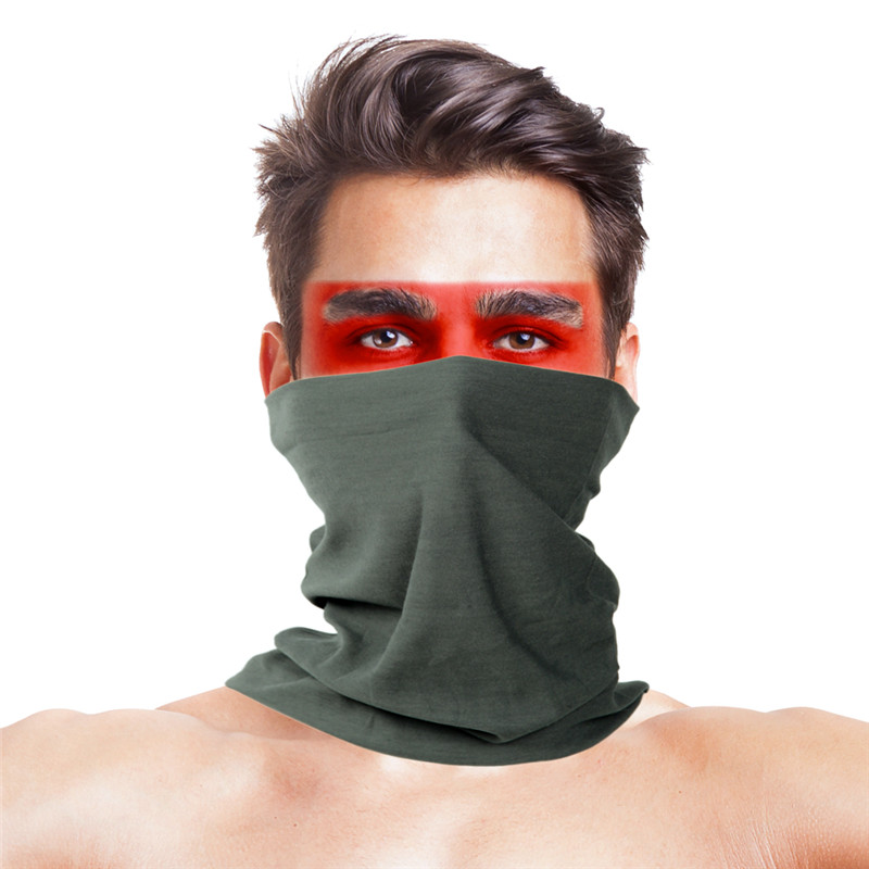 Daiwa Neck Face Mask Fishing Scarves Polyester Windproof Anti UV Face Mask Bandana  Army Military Tactical Fishing Sportswear
