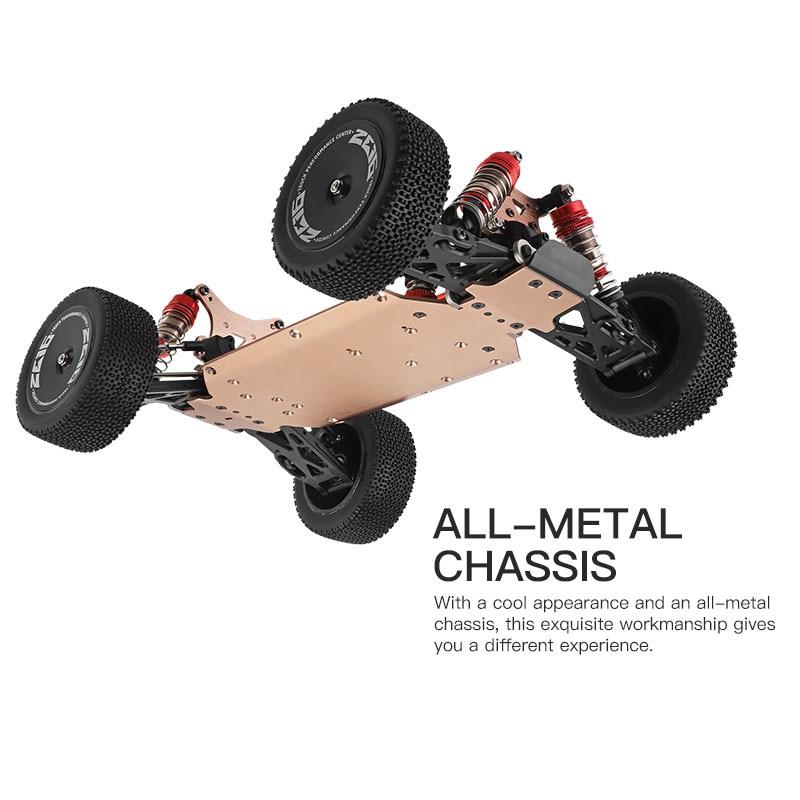 WLtoys 144001 959A 959B 2,4G гоночный RC автомобиль 70 км/ч 4WD Электрический высокоскоростной автомобиль внедорожник дрейф дистанционное управление игрушки для детей 4