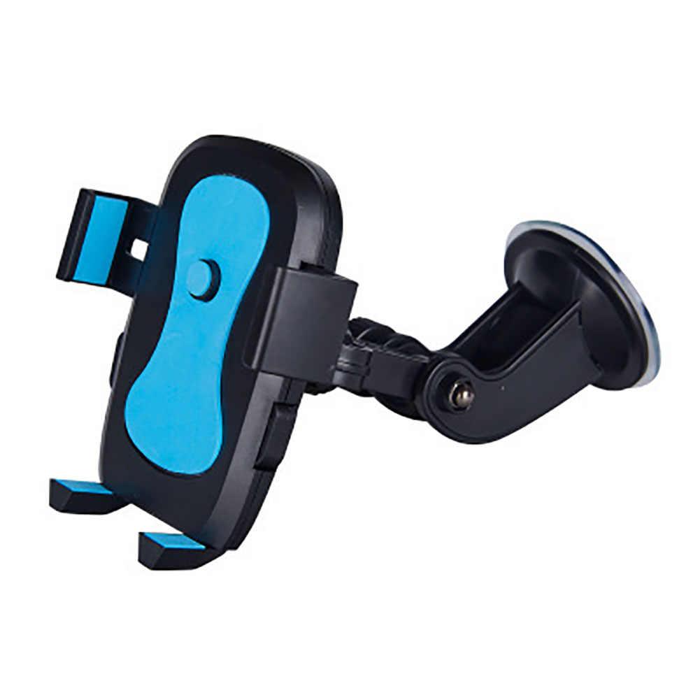 Obrotowy uchwyt na szybę pojazdu uchwyt na telefon samochodowy uchwyt kołyskowy uchwyt stojak trwały, przyssawka, stabilny, antypoślizgowy