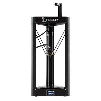 Impressora 3d flsun qq s delta kossel auto nível atualizado currículo pré montagem tft 32bits placa impressora 3d drucker|flsun 3d printer|3d printer high|3d printer -