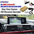 Автомобильная камера заднего вида для BMW 3 серии F80 F30 F31 F34 F35 2010-2020 адаптер интерфейса подключение оригинального экрана декодер заднего вида