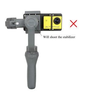 Image 4 - Шарнирный адаптер стабилизатор для экшн камеры Gopro Hero 8, 7, 6, 5, SJCAM, Yi, 4K, DJI OSMO, Feiyu, Zhiyun