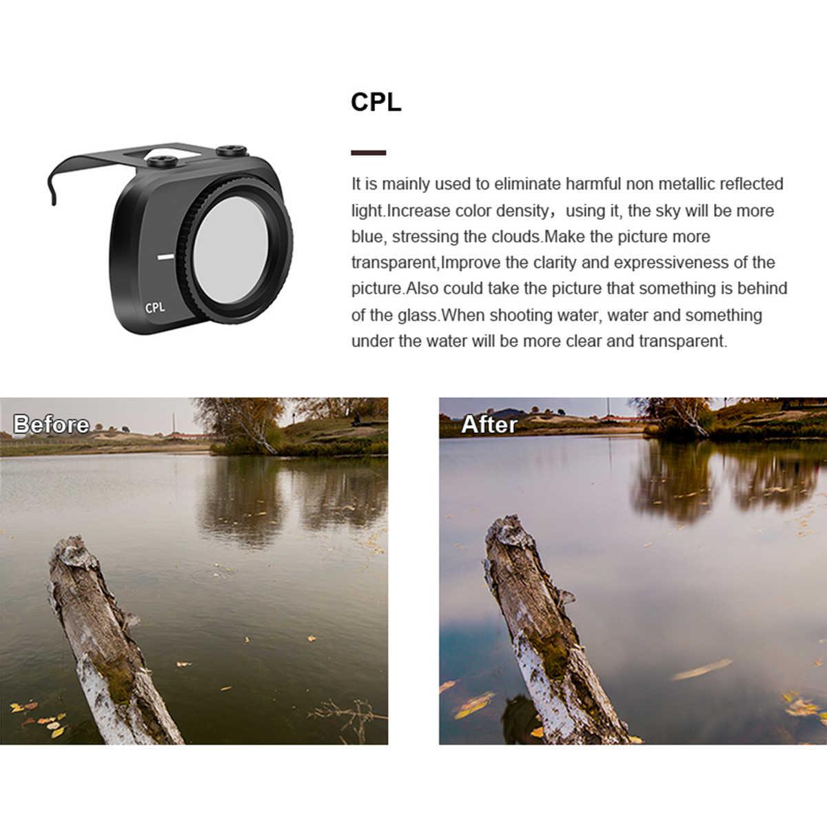 Compatible with DJI Mavic Mini Drone 6pcs Lens Filter Set CPL MCUV ND4 ND8 U6N3