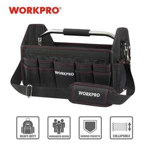 Foldable Bag Handbag Storage-Bag-Tool-Kits Shoulder-Bag WORKPRO 16--Tool-Bag Polyester