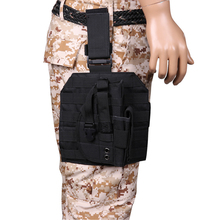 Molle Tactical Leg Holster Glock Airsoft Pistol Gun Drop Pouch Adjustable Strap For Universal