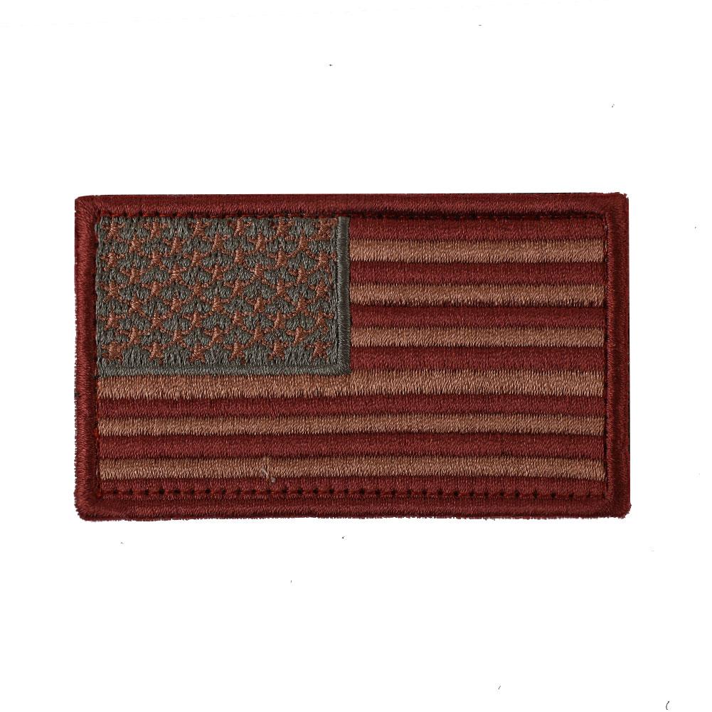 SOLEDI Войлок Atrts ремесла Флаг США нарукавная повязка DIY Аксессуары вышитый армейский значок 8,3*5 см военный 3D тактический