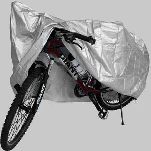 Fahrradabdeckung Für 2 Fahrräder Wasserdichte Anti-Staub-Regen Mit UV-Schutz