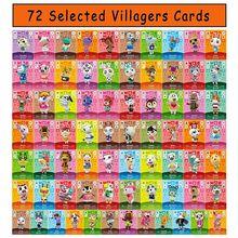 72 pièces croisement d'animaux pour Mini cartes NFC nouveau Horizon Tag carte de jeu pour commutateur/commutateur Lite/Wii U 31mm x 21mm