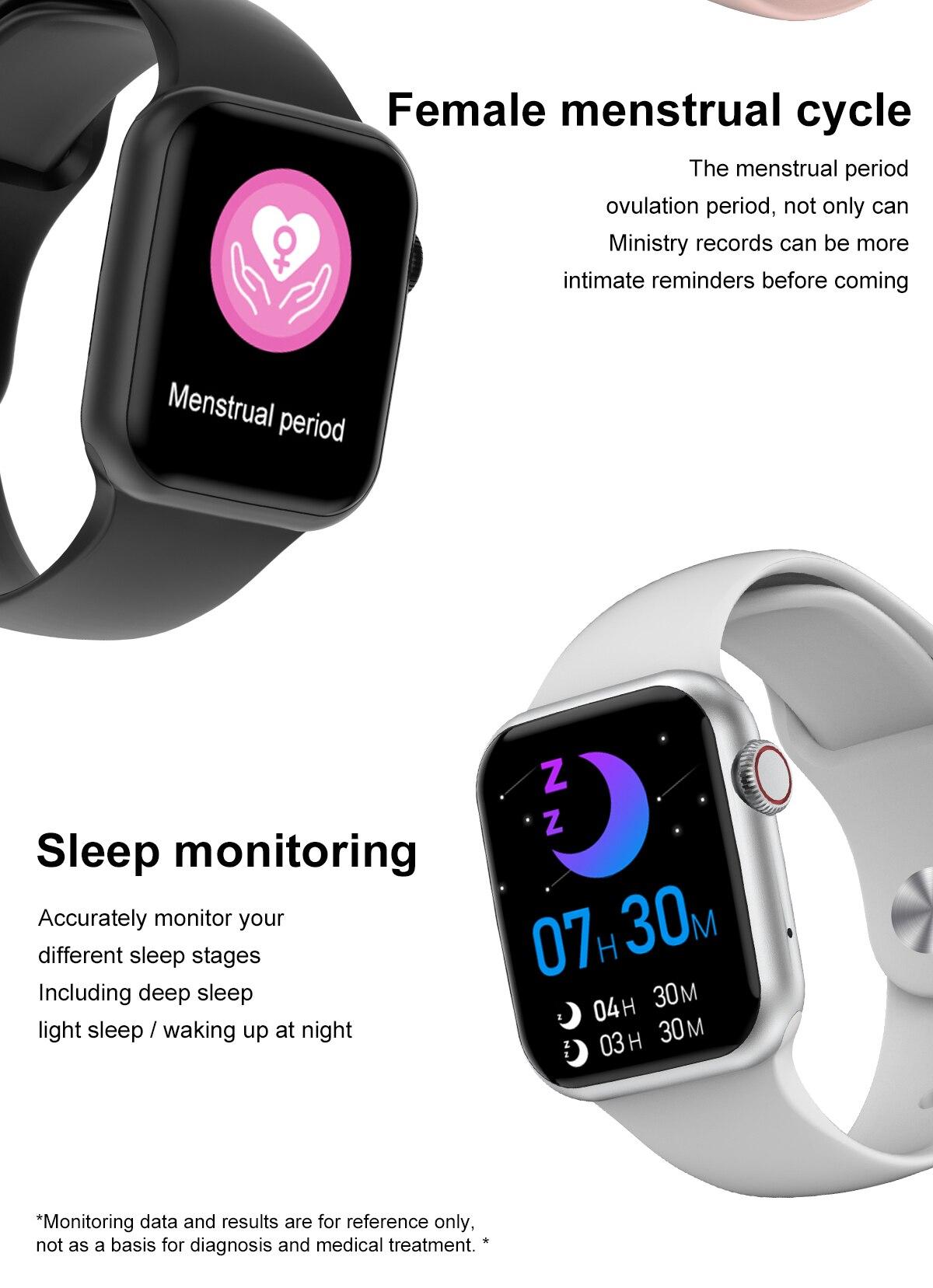 Moda relógio inteligente treinamento de respiração dial
