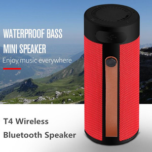 Image 1 - Finlemho T4 Wireless Speaker Bluetooth Stereo USB Outdoor Portable Loudspeaker AUX TF Input With Mobile Phone Multi Purposed