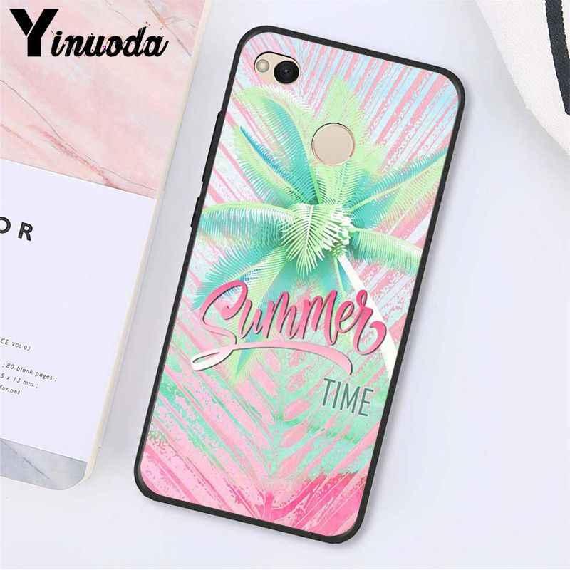 Hola, Yinuoda vacaciones de verano, chica de viaje, funda de teléfono para Xiaomi note 3 mi5 6 A1 A2 Lite Mi9 9SE mi8lite 8explorer Mix2 2S Max2 3