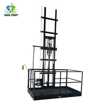 Vertical Cargo Lift Customized  Automotive Lifting Platform Elevator