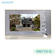 HOMSECUR 7inch Color Indoor Monitor XM710 G For Video Door Phone Intercom System