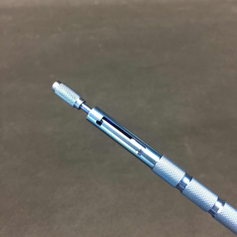 Caneta de plantio de cabelo dobrável, ferramenta de liga de titânio para plantio de cabelo, caneta de transplantio manualmente